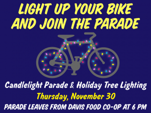 Bike Light Parade @ Davis Food Coop | Davis | California | United States